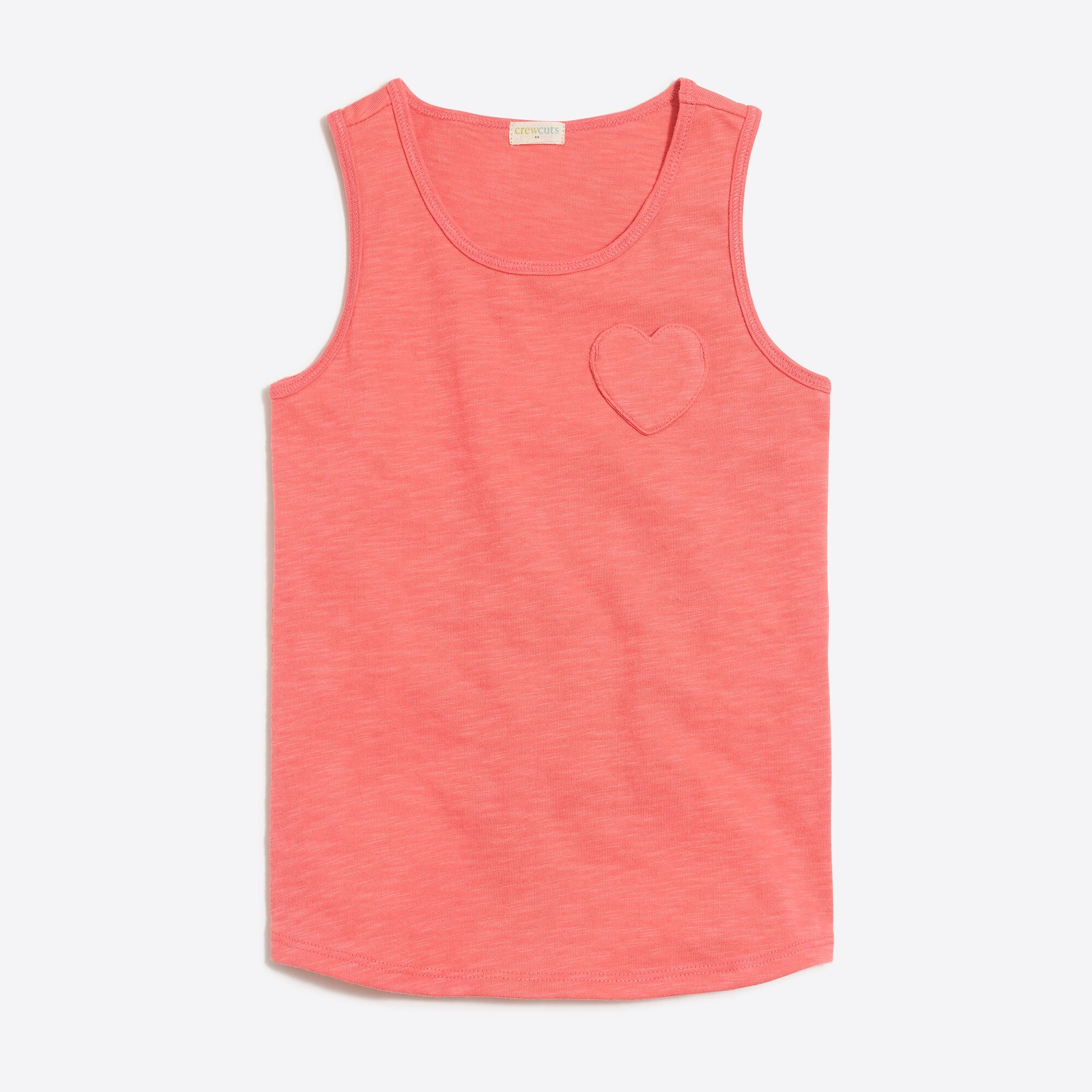 girls' heart pocket tank top : factorygirls tank tops