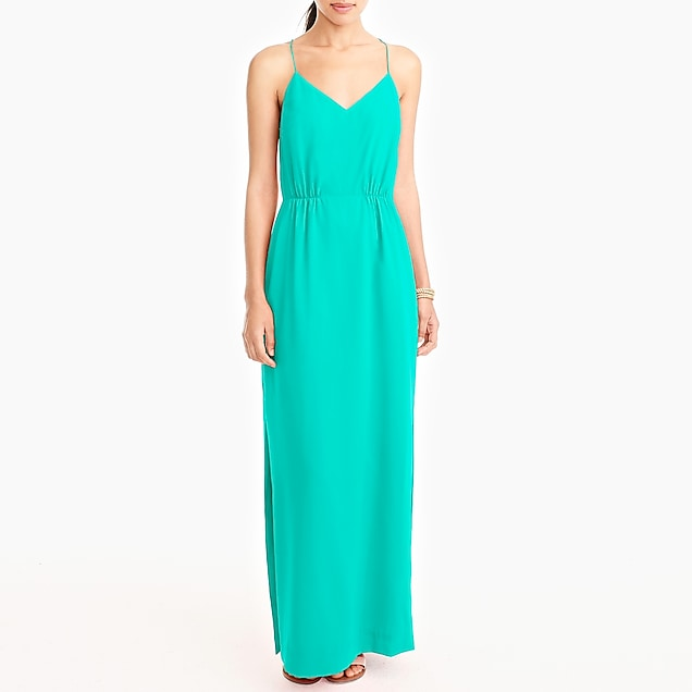j.crew factory: racerback maxi dress