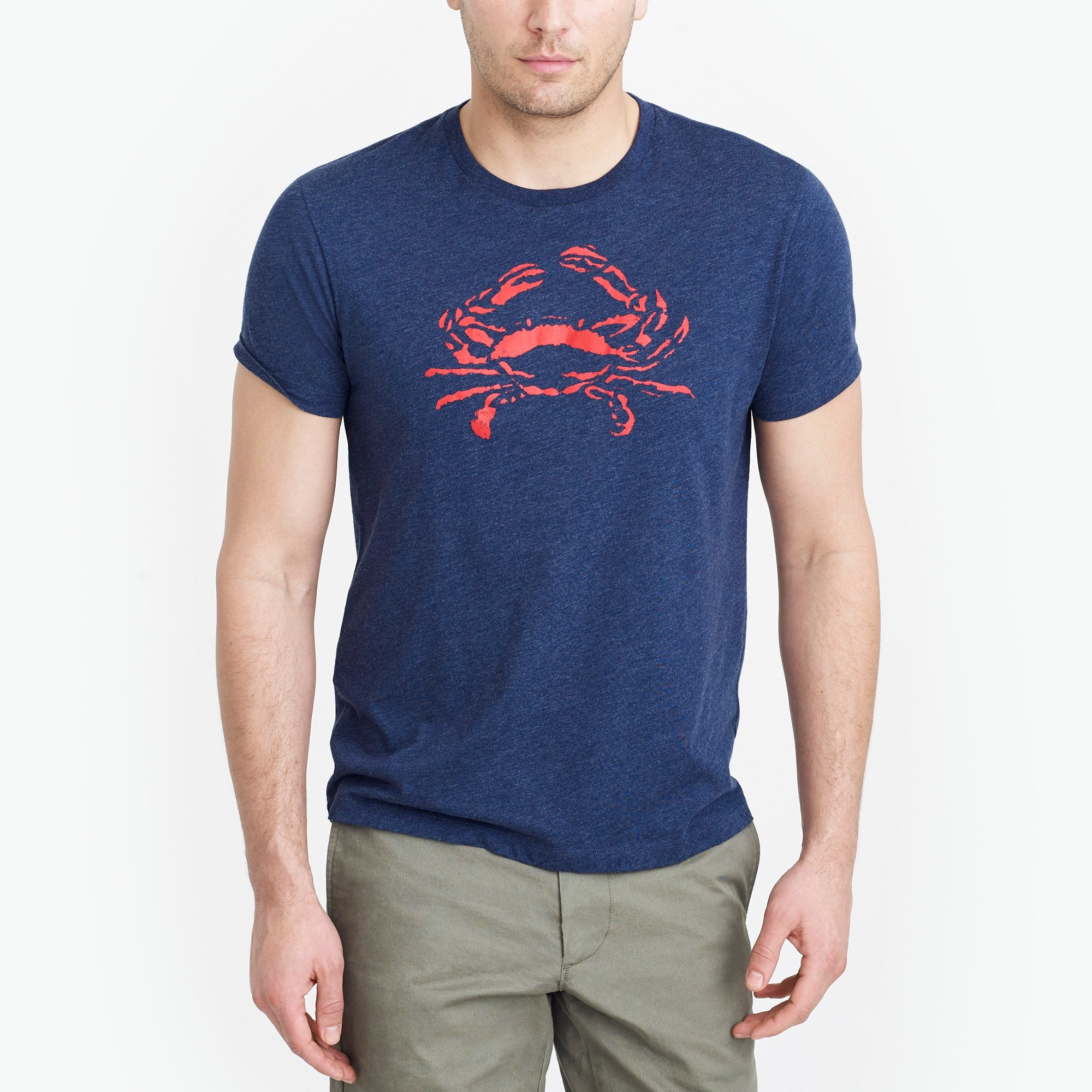 factory mens Broken-in crab T-shirt