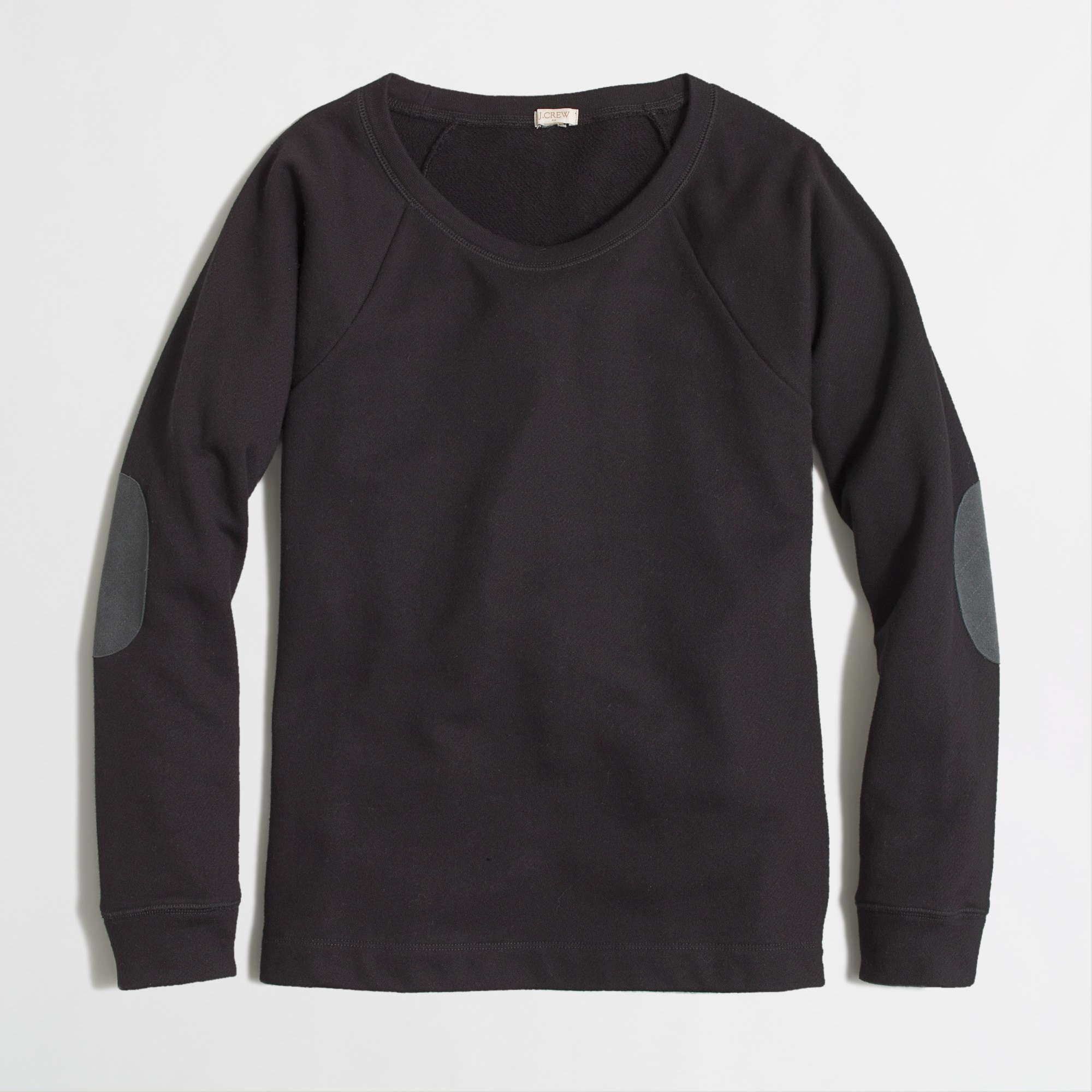 factory elbow-patch sweatshirt :