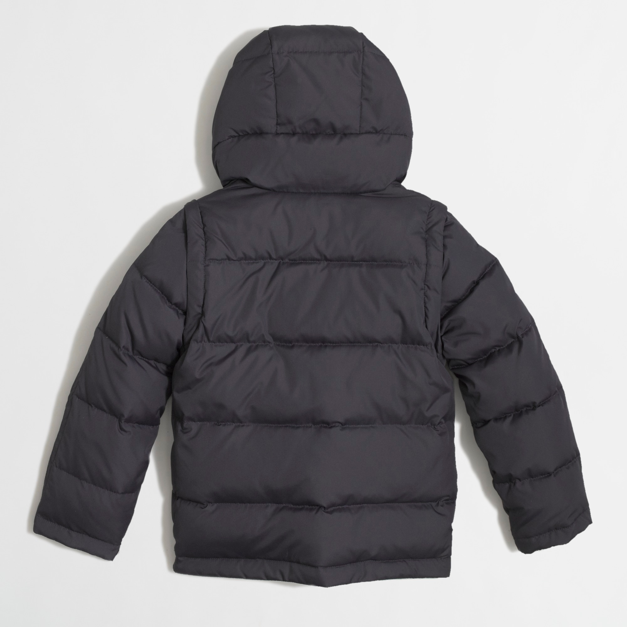 Image 3 for Factory kids' convertible puffer