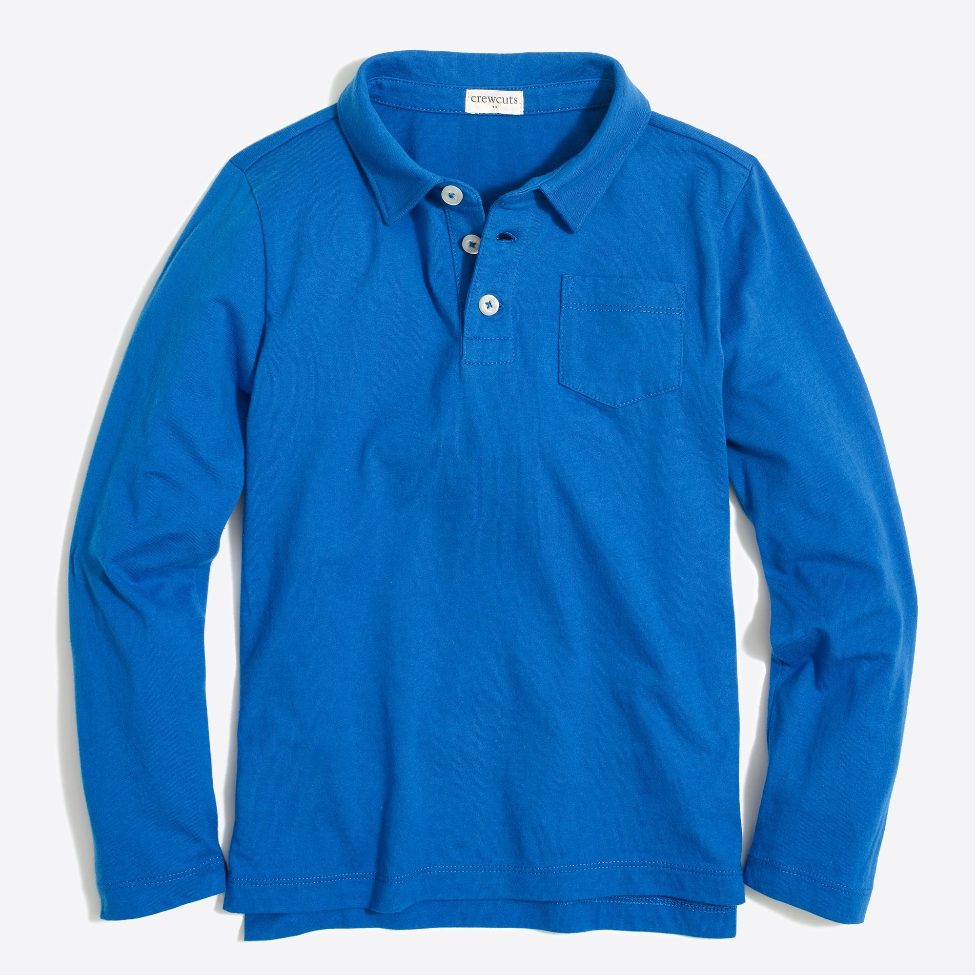 factory boys Boys' long-sleeve polo shirt