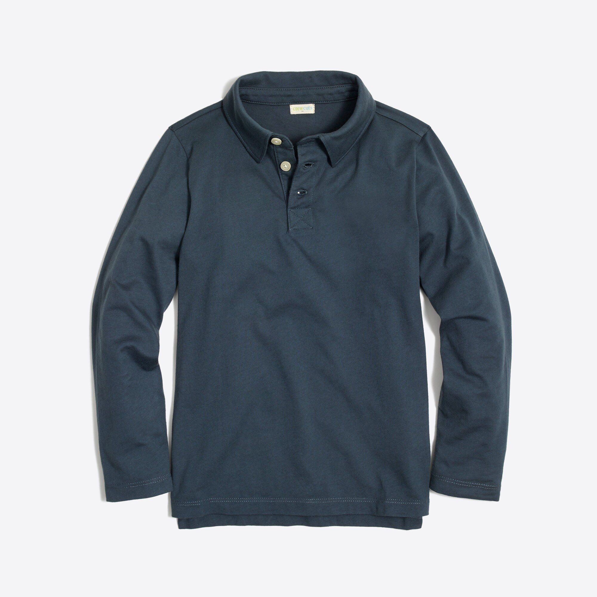 Image 1 for Boys' long-sleeve polo shirt