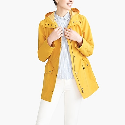 factory womens Utility rain jacket