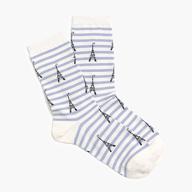 j.crew factory: paris trouser socks