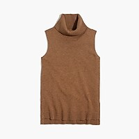 Turtleneck sweater-tank