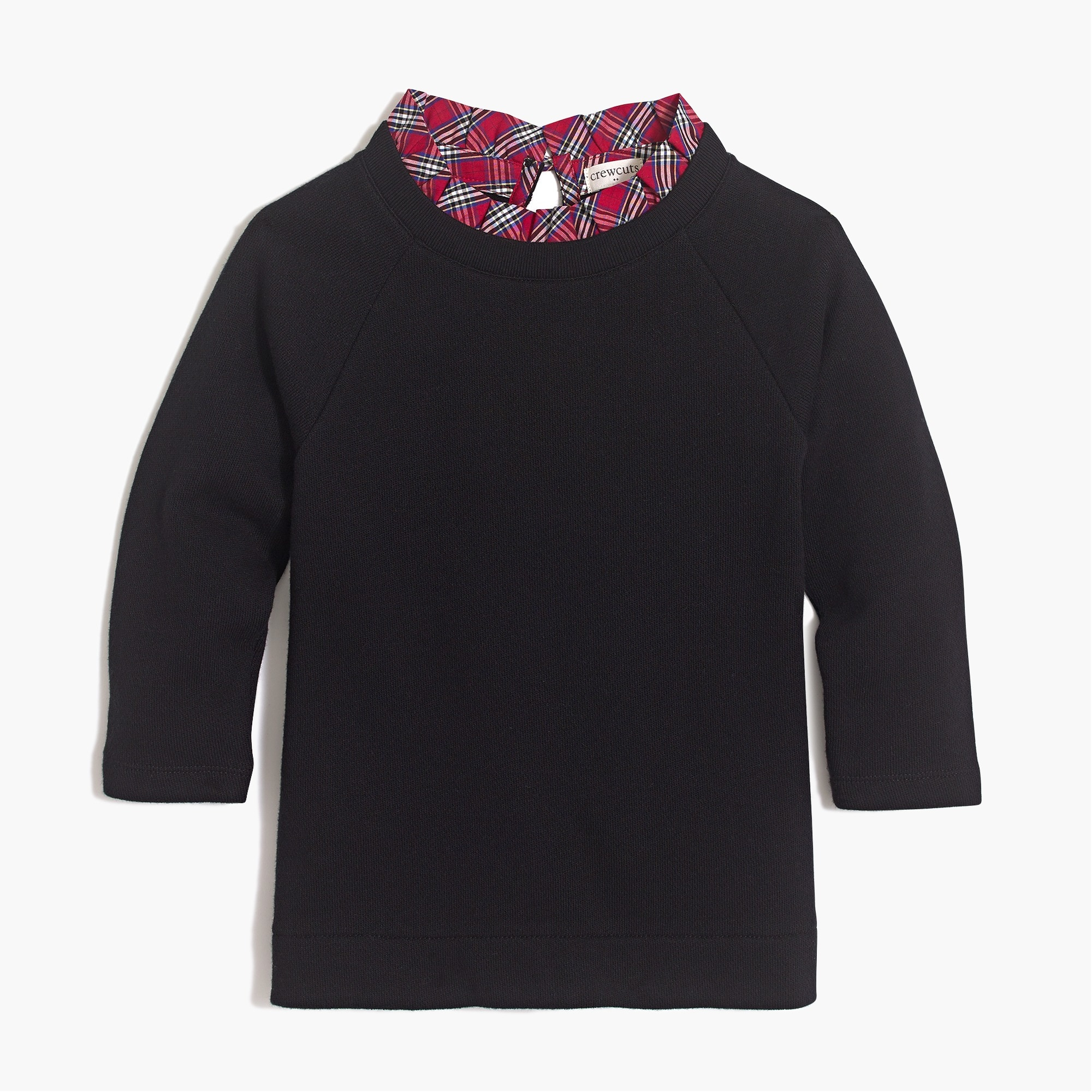 girls' ruffled-collar sweatshirt : factorygirls sweatshirts