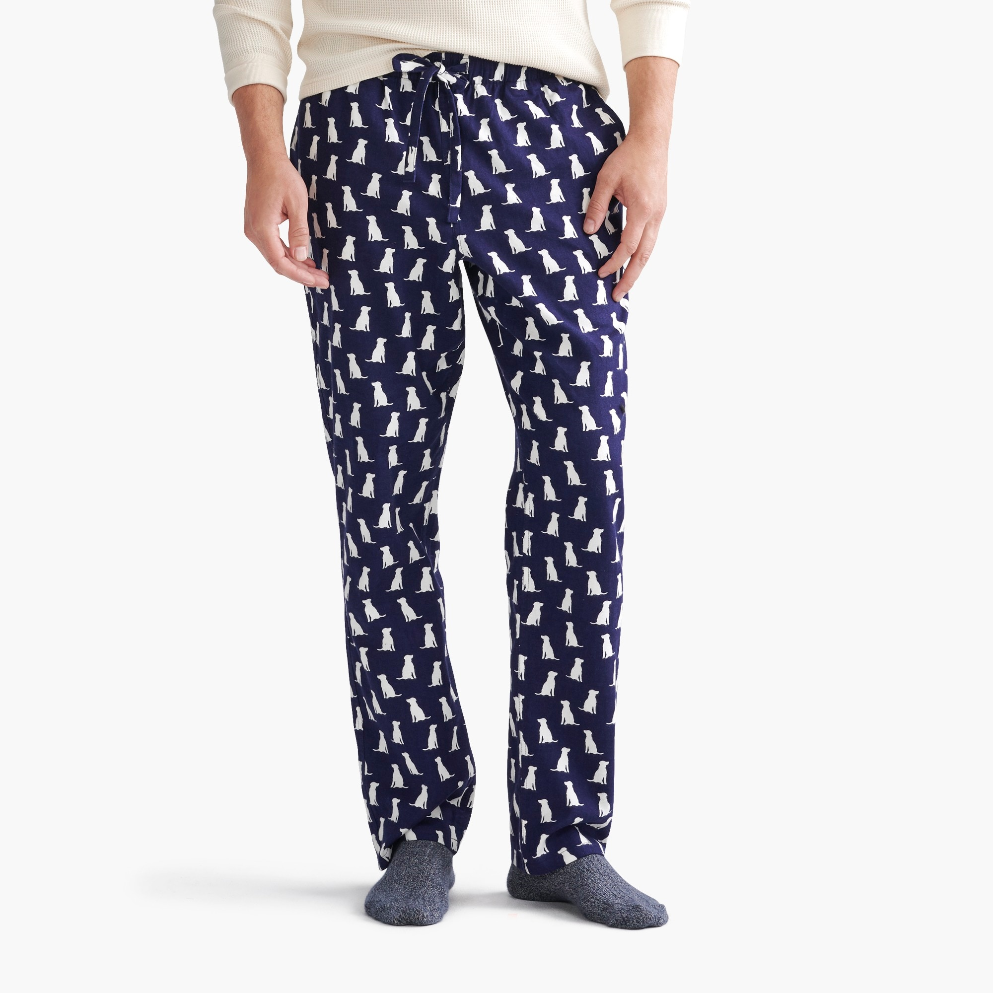 Image 1 for Labrador flannel pajama pant