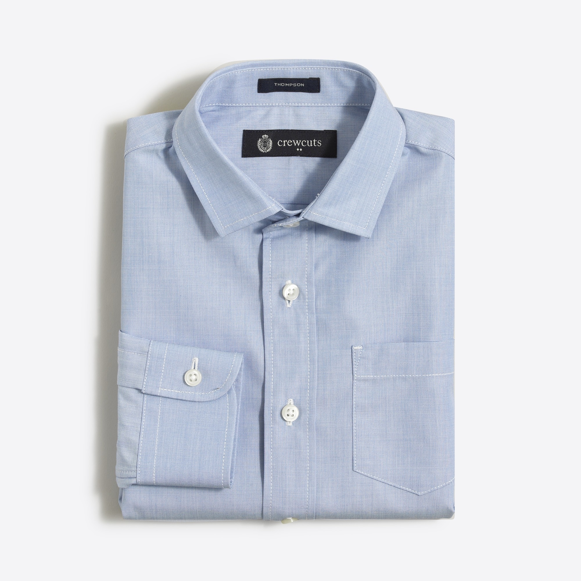 factory boys Boys' end-on-end Thompson dress shirt