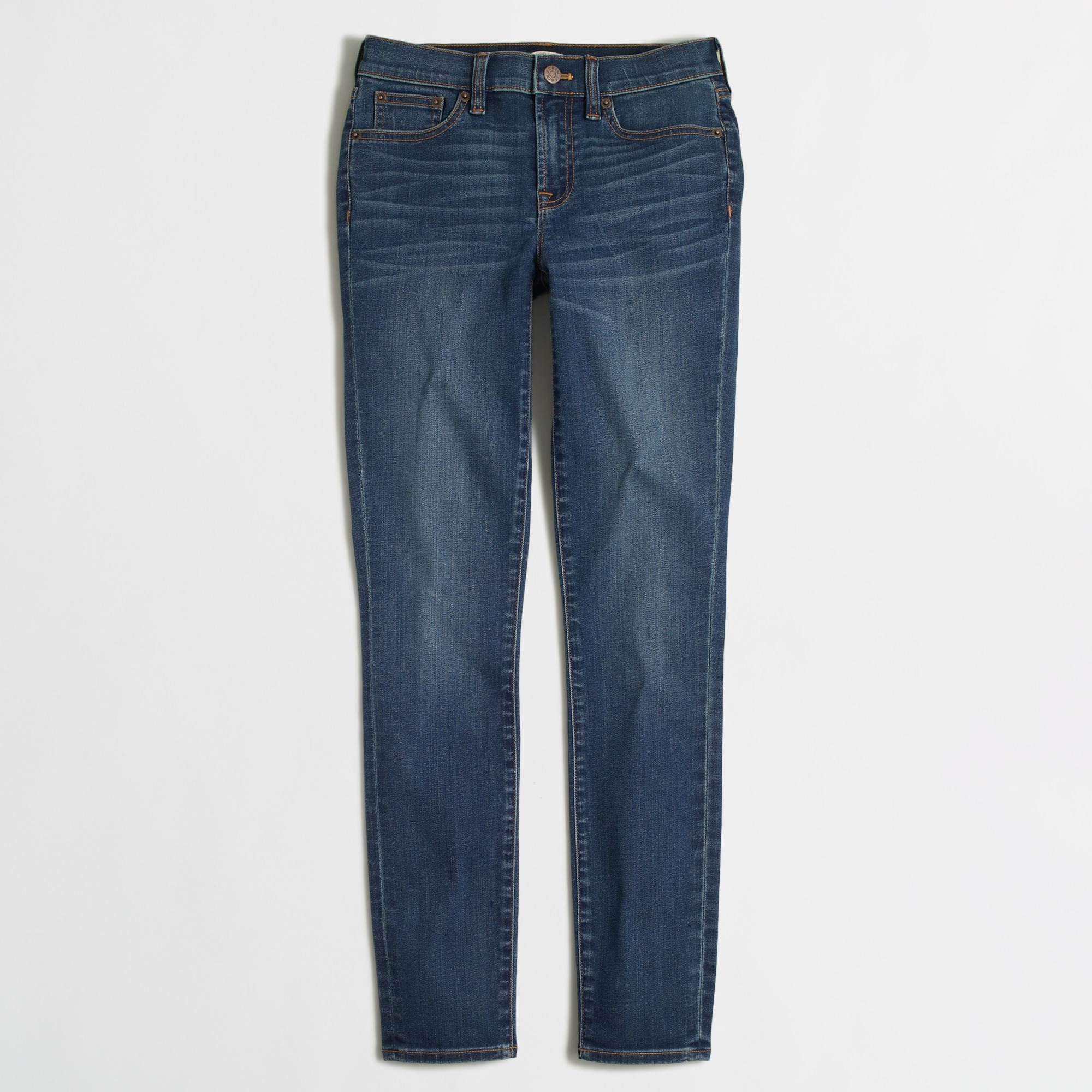 "Medium Miller wash skinny jean with 28"" inseam"