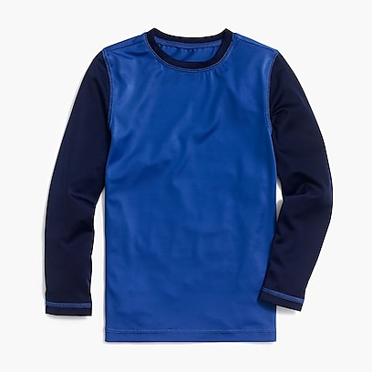 factory boys Factory boys' contrast rash guard