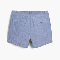 "Image 4 for 5"" chambray short"