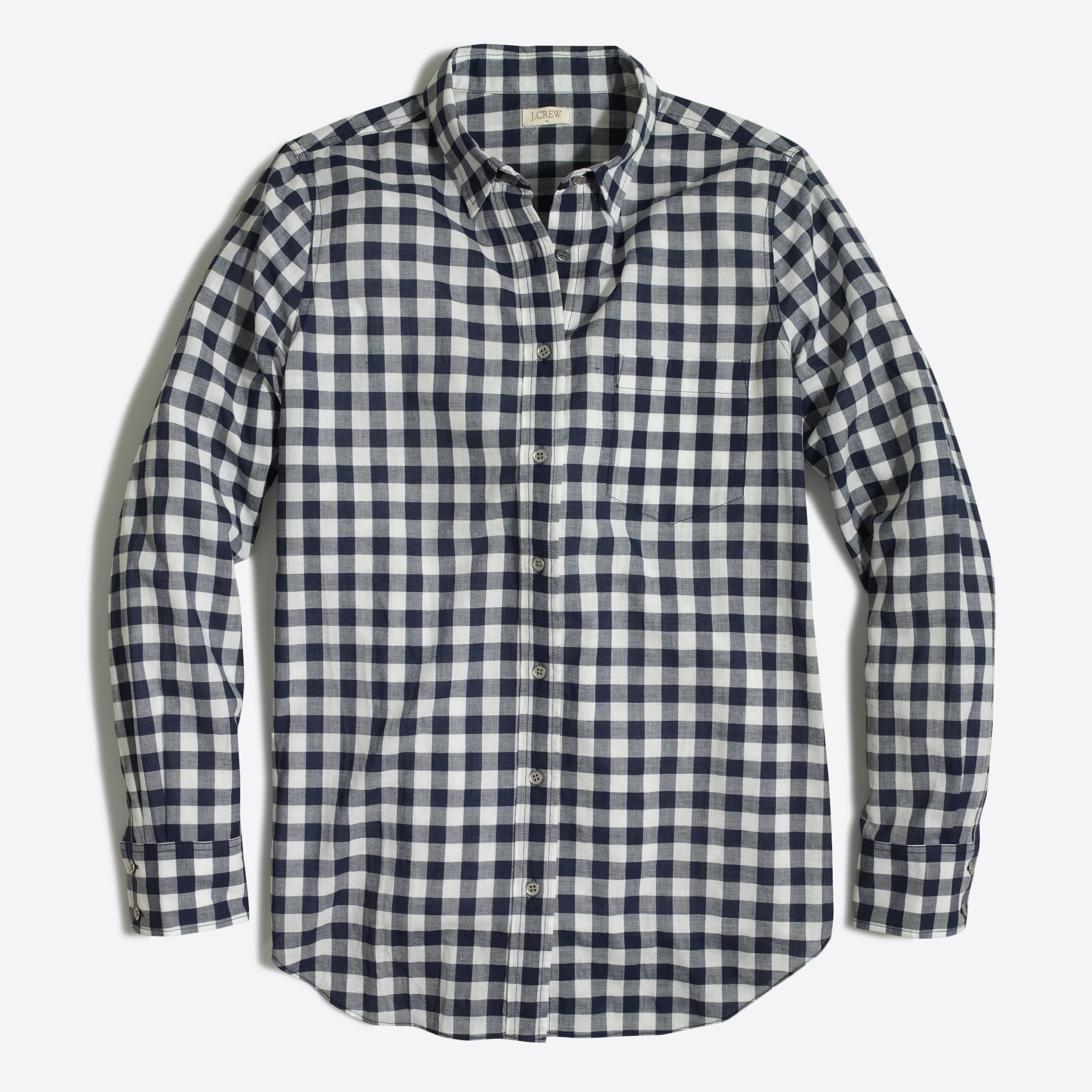 Image 2 for Gingham classic button-down shirt in boy fit