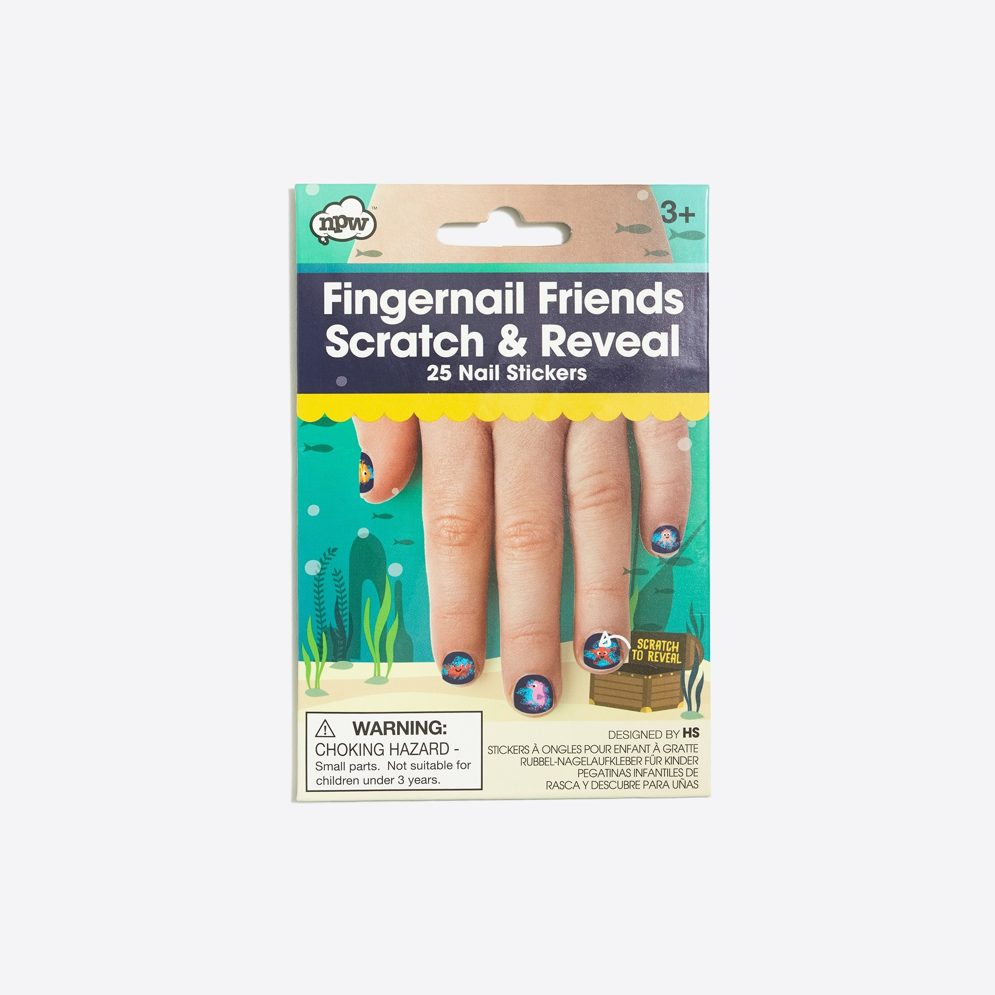 factory girls Kids' Natural Products Ltd.™ fingernail friends