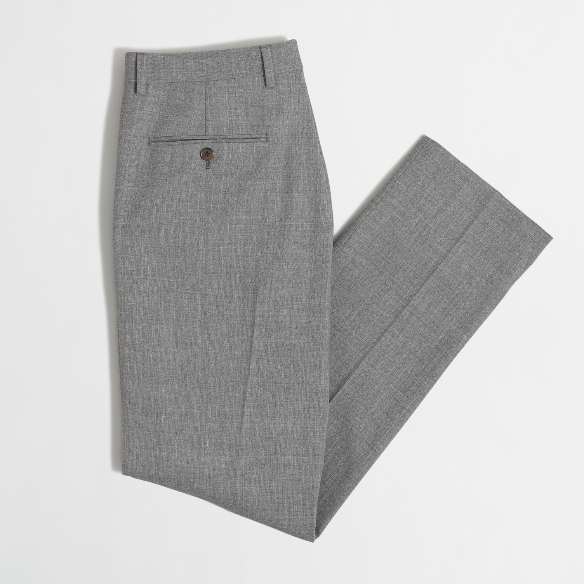 Image 5 for Classic-fit Thompson suit pant in Voyager wool