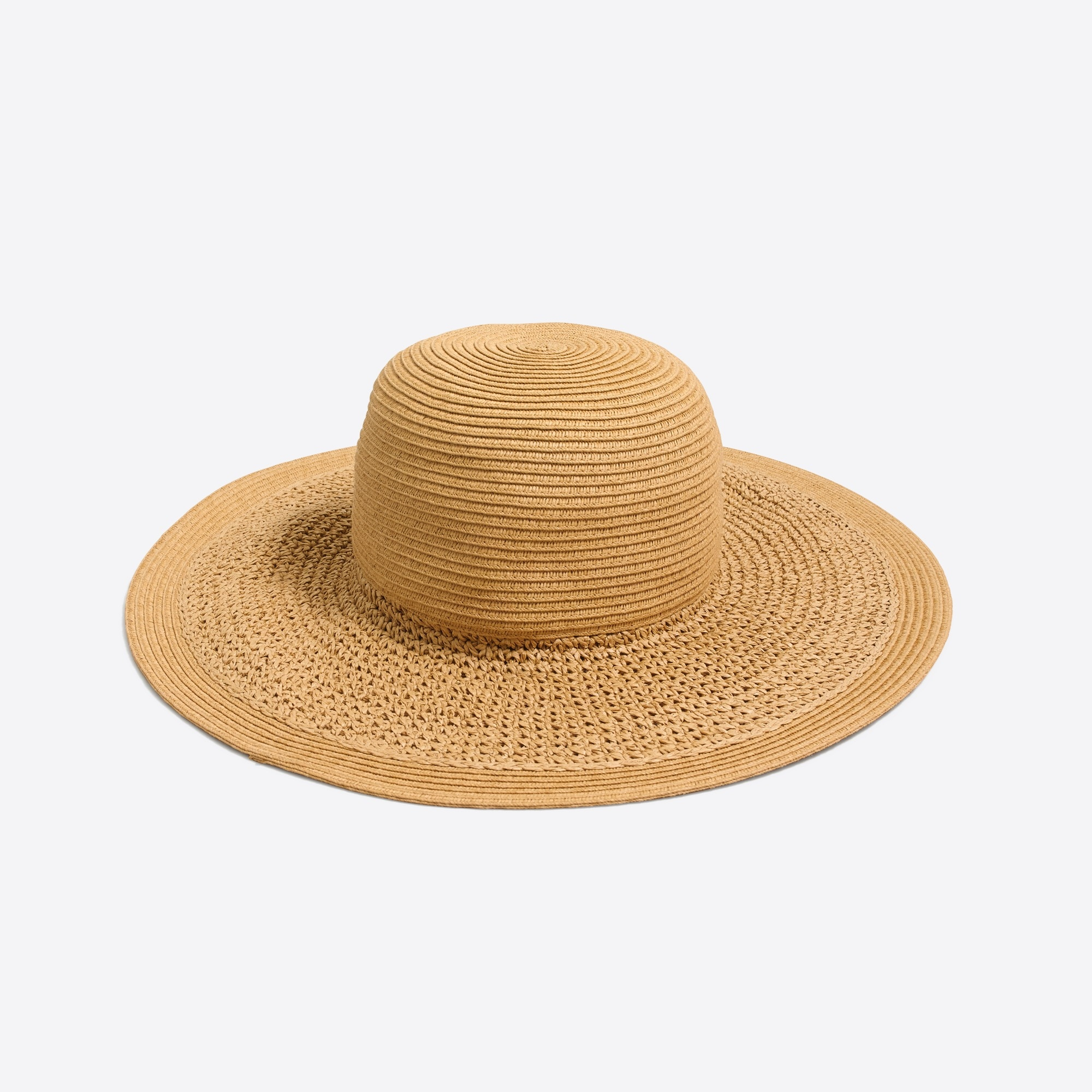 textured summer straw hat : factorywomen hats & earmuffs