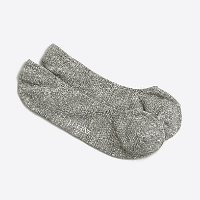 factory mens Marled no-show socks