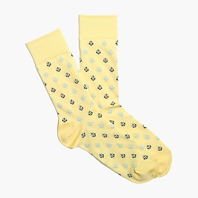factory mens Anchor socks
