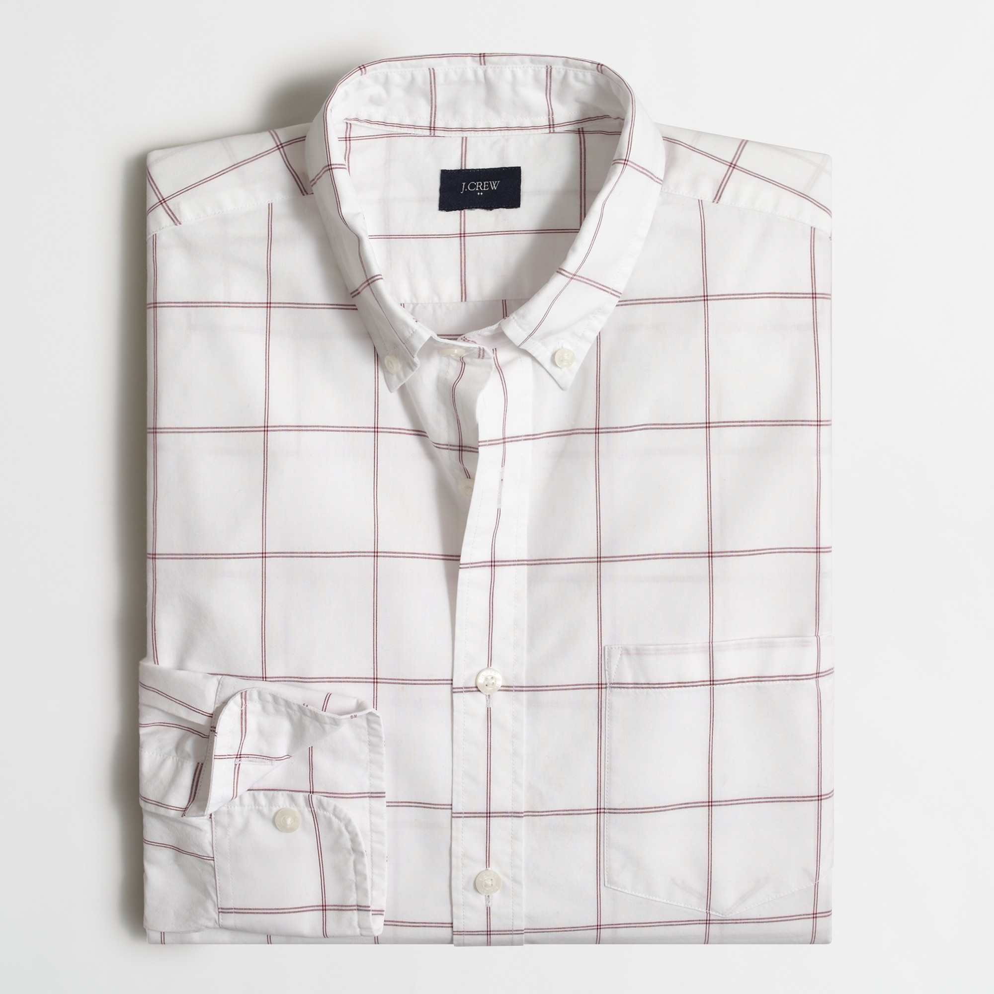 Image 1 for Washed shirt in tattersall