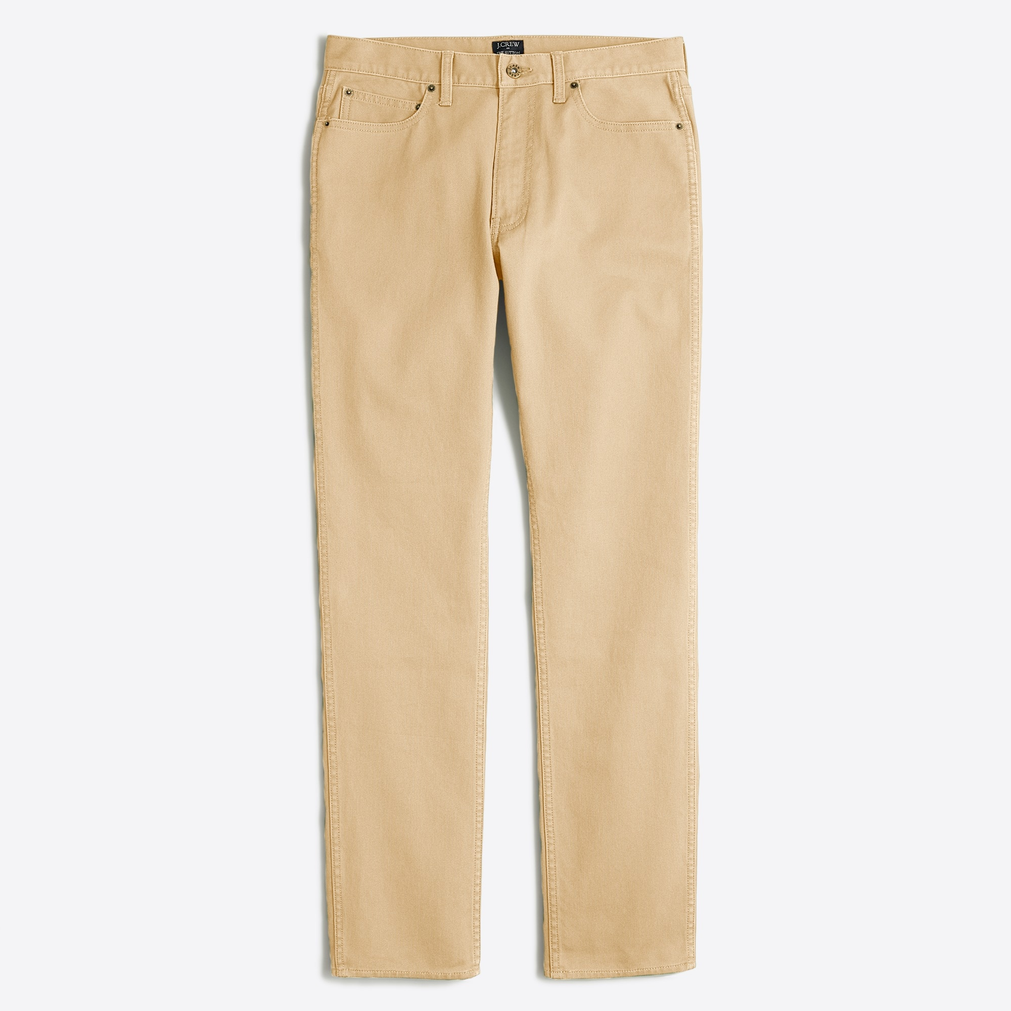 Sutton straight-fit corded cotton pant