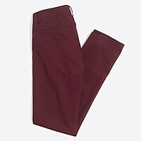 Driggs slim-fit corded cotton pant