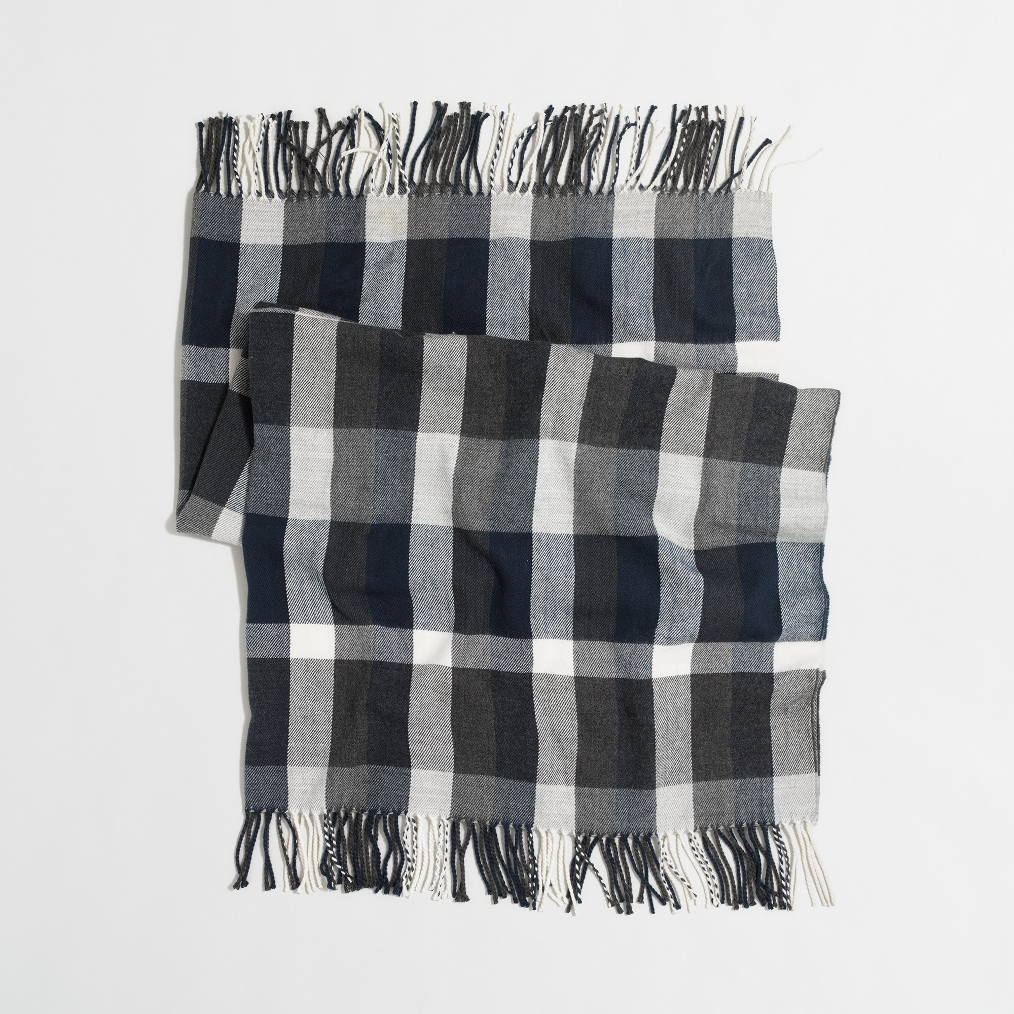 Image 2 for Plaid throw blanket