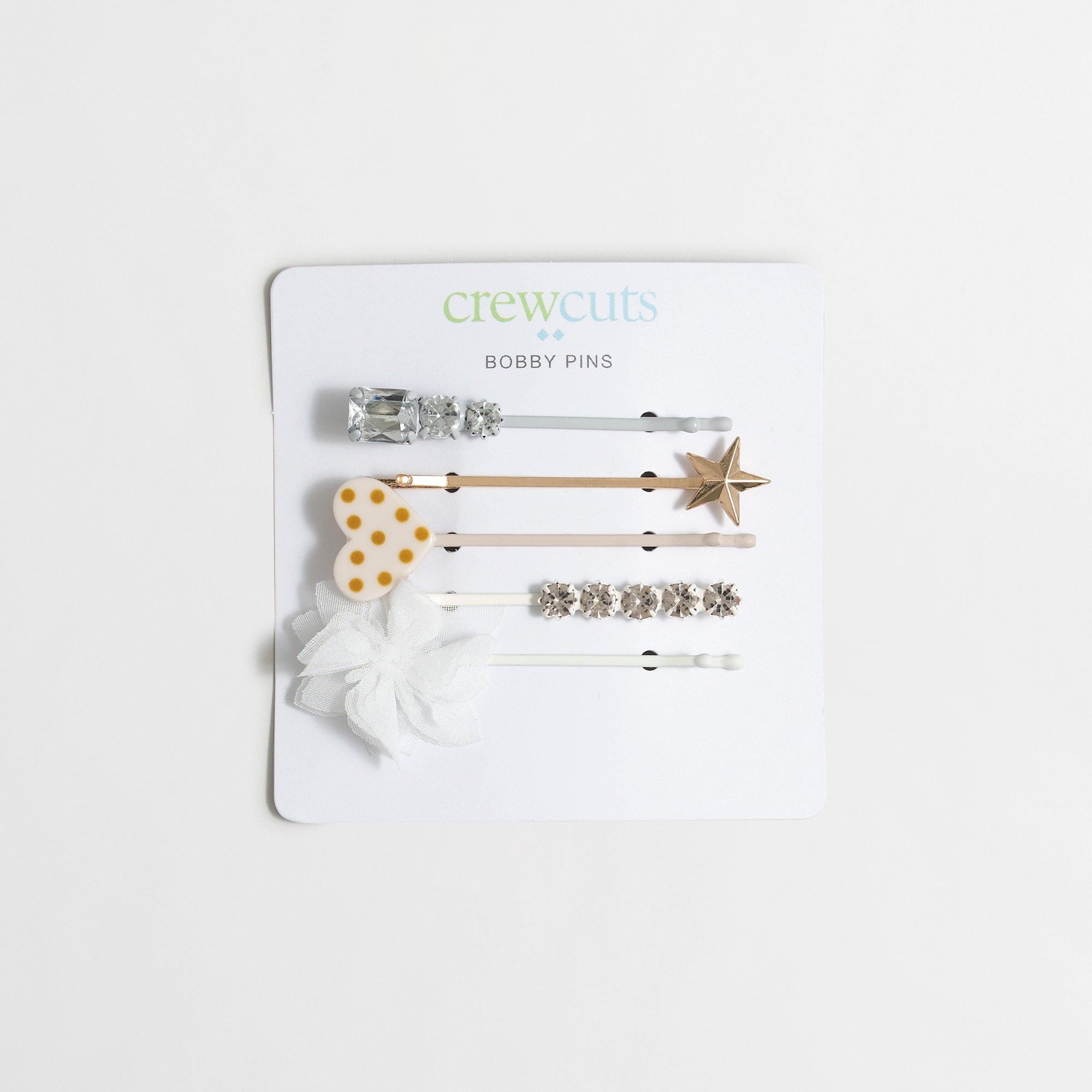 girls' bobby pin five-pack :