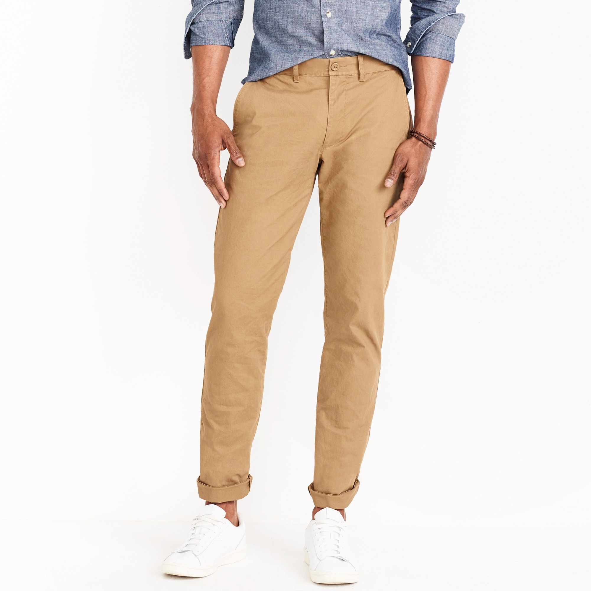 Sutton straight-fit flex chino