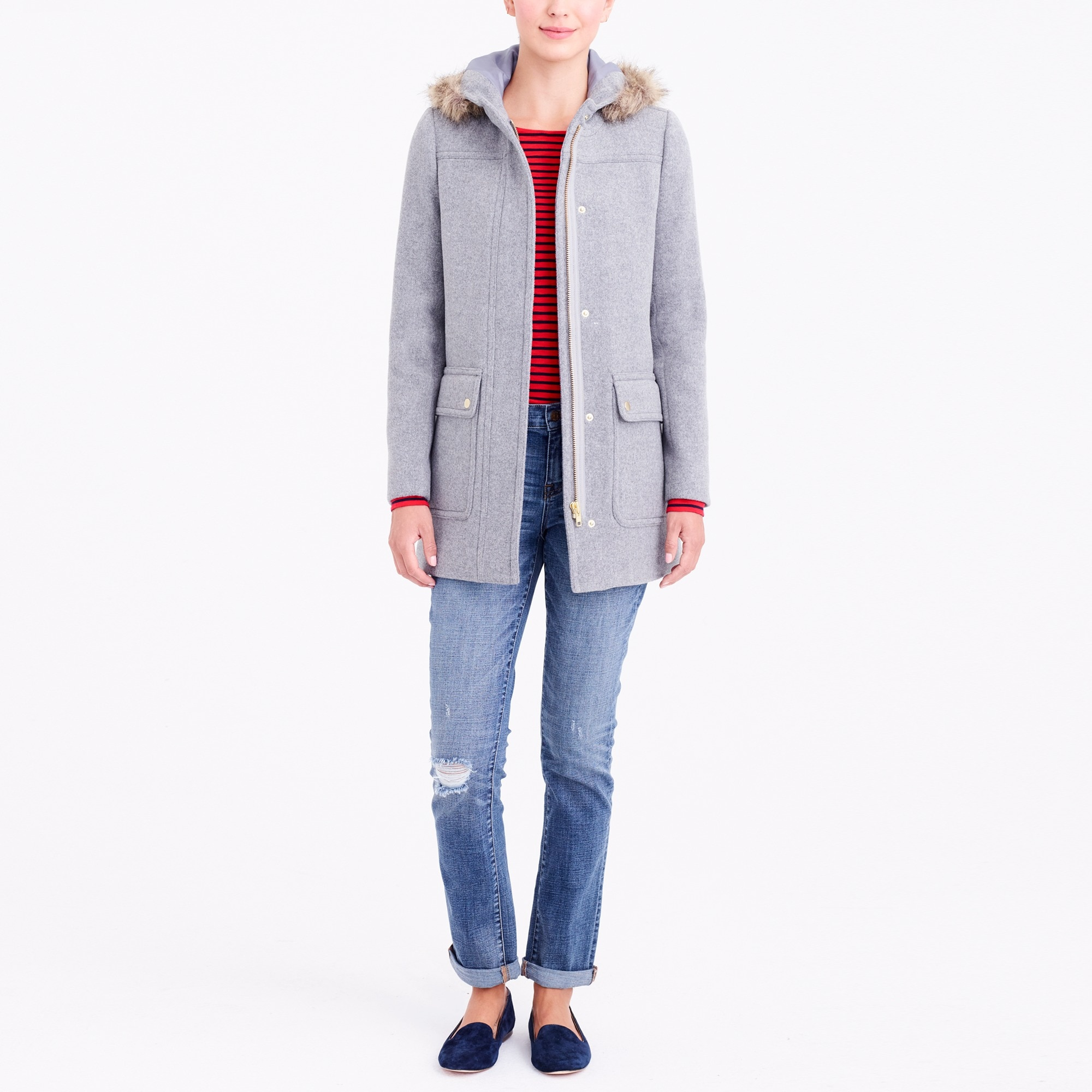 vail parka : factorywomen sizes 18-20