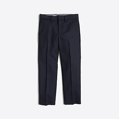factory boys Boys' Thompson suit pant in wrinkle-resistant wool