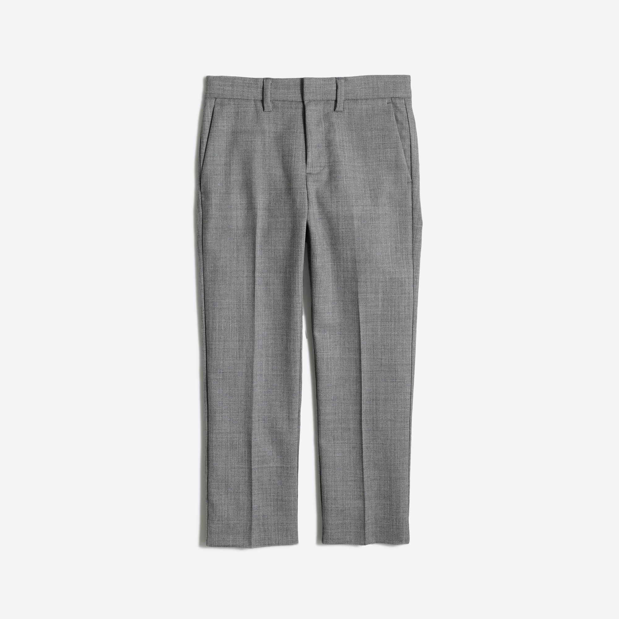 j.crew factory: boys' thompson suit pant in wrinkle-resistant wool