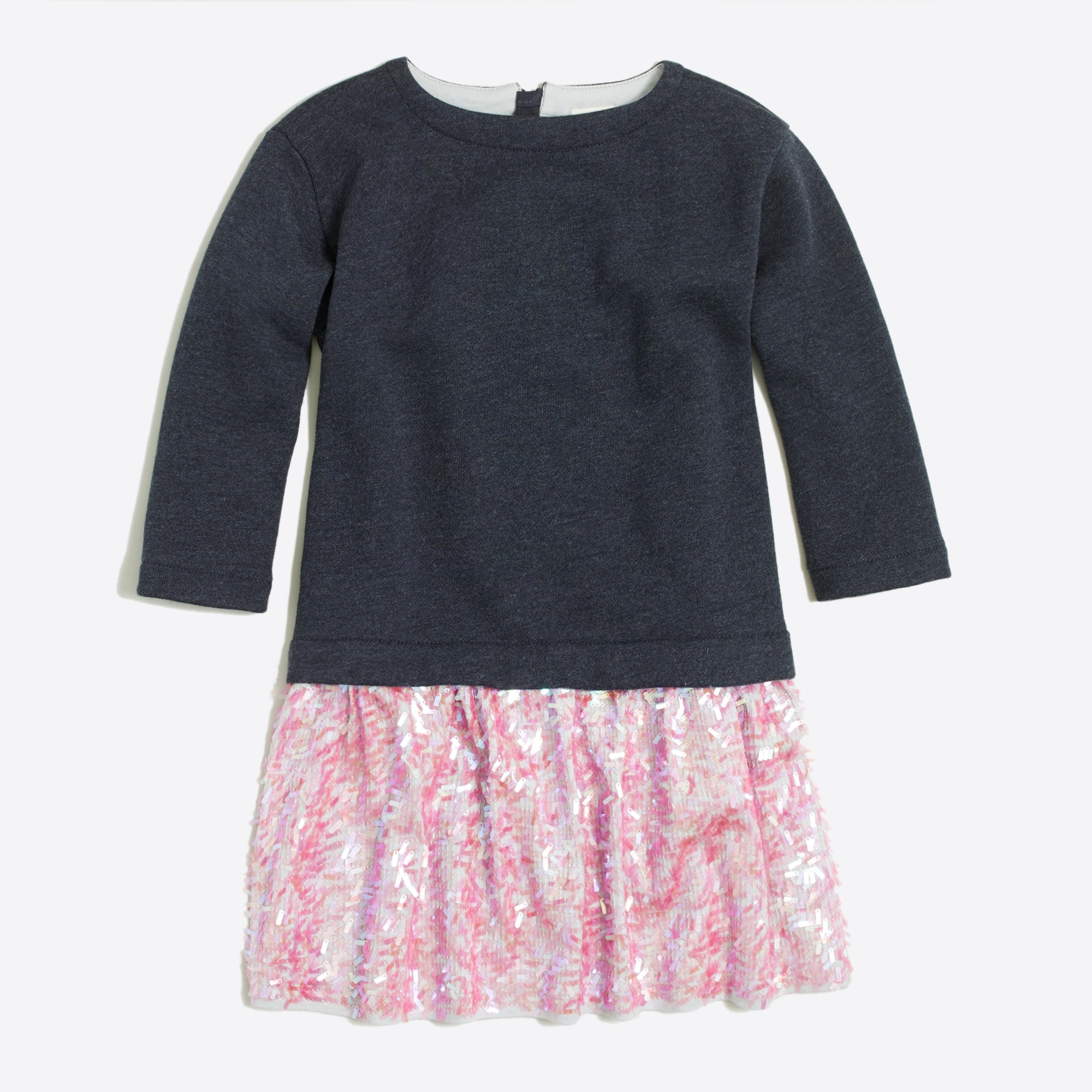 girls' sequin-skirt sweatshirt dress : factorygirls dresses & skirts