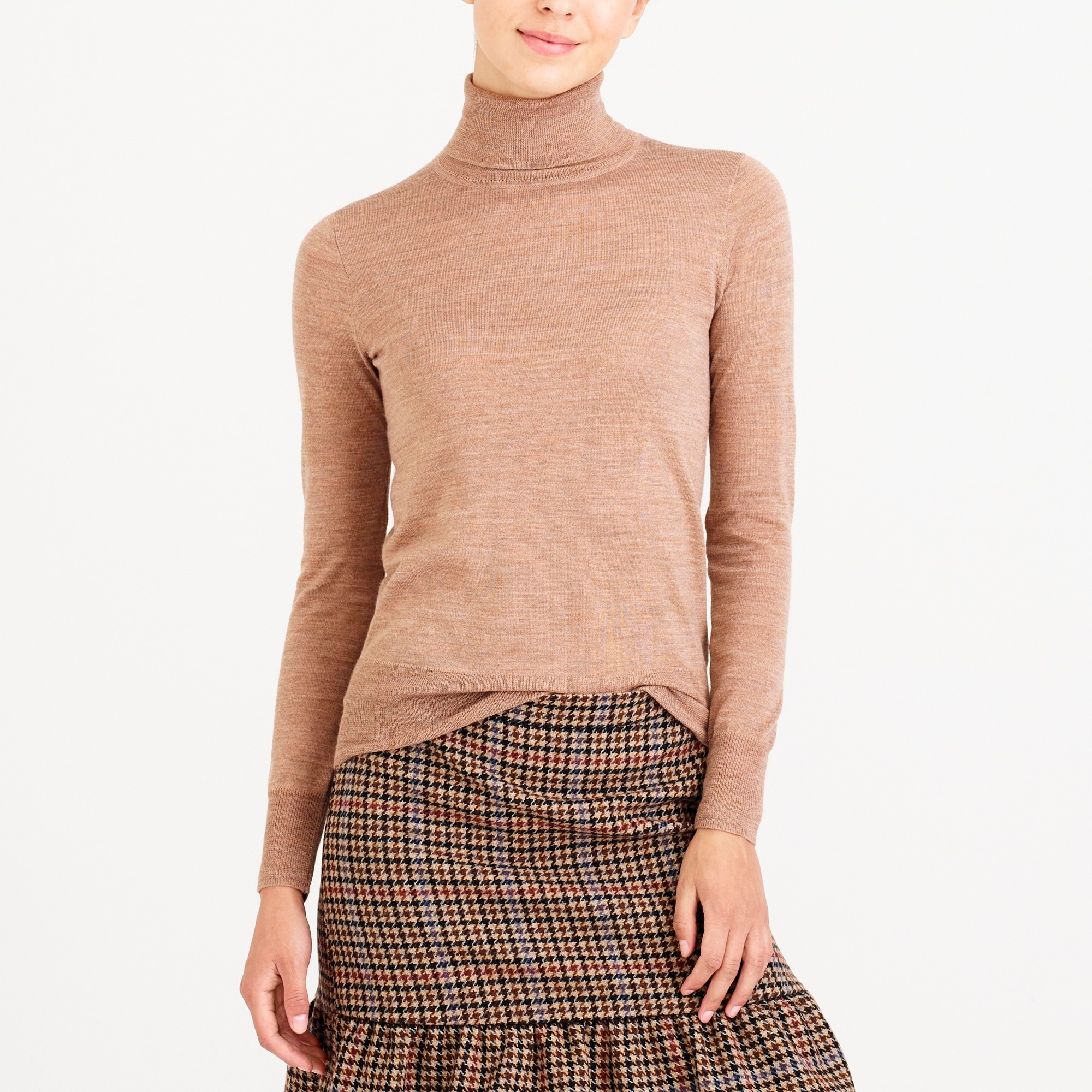 merino wool turtleneck sweater : factorywomen turtlenecks