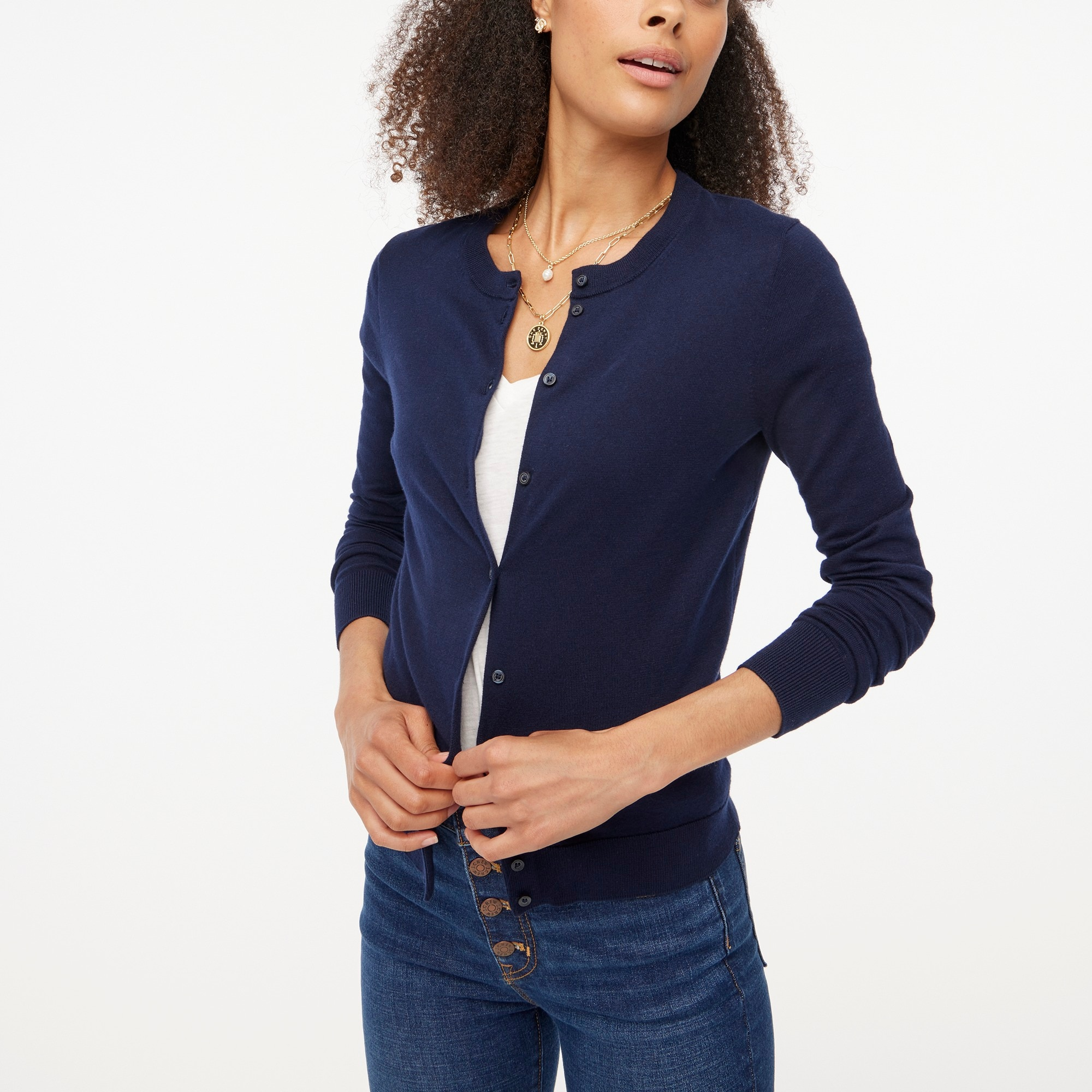 factory womens Cotton Caryn cardigan sweater