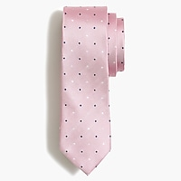 Image 1 for Multidot silk tie