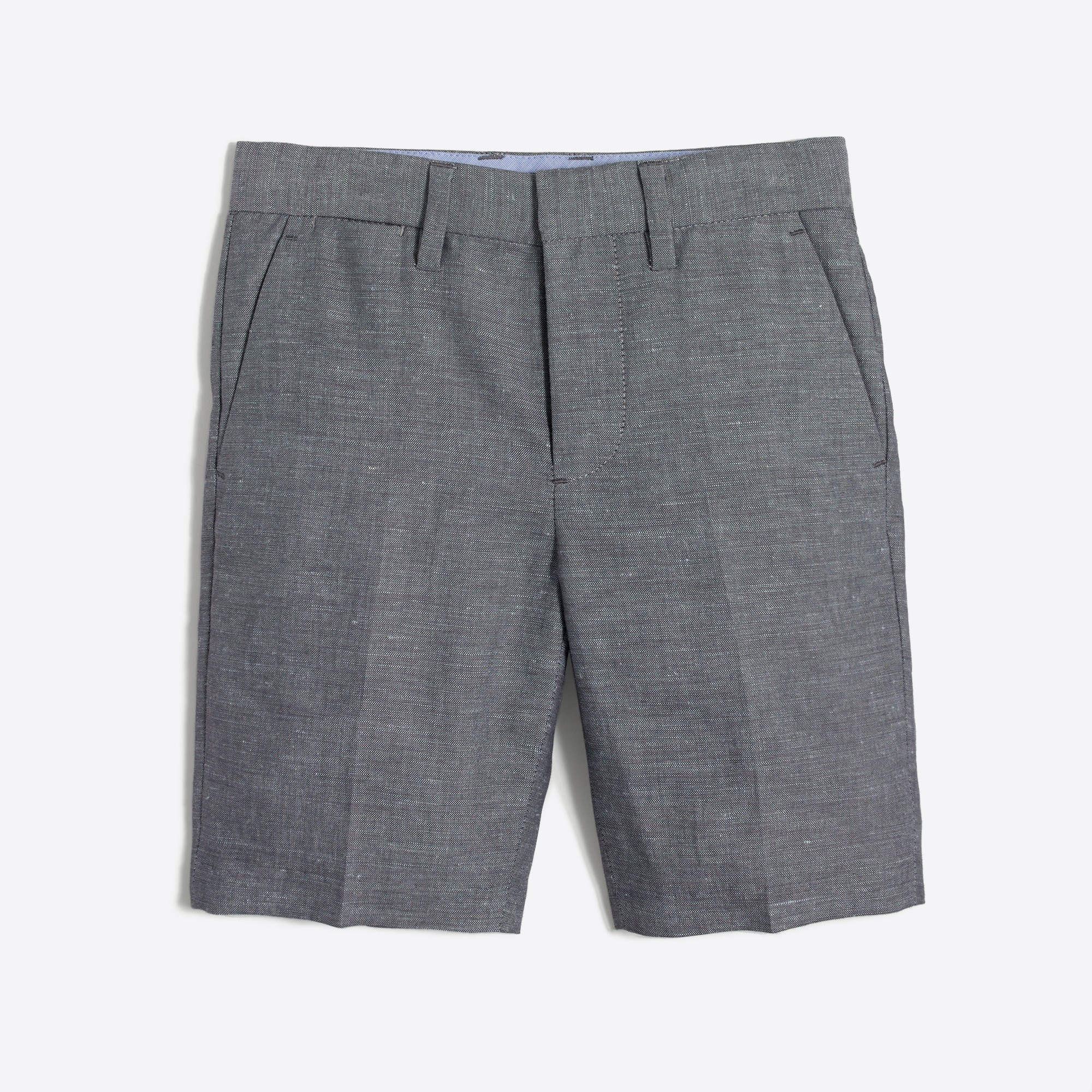 Image 1 for Boys' Thompson suit short in slub linen