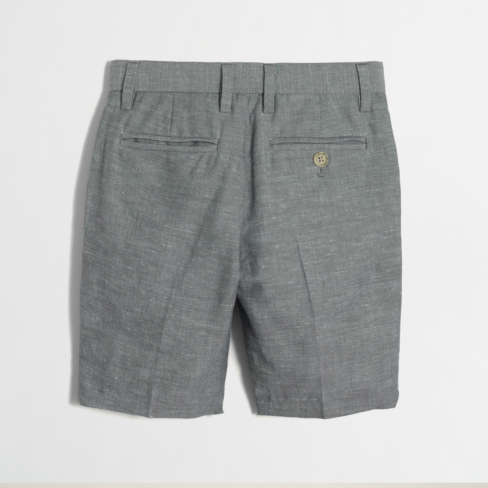 Image 2 for Boys' Thompson suit short in slub linen