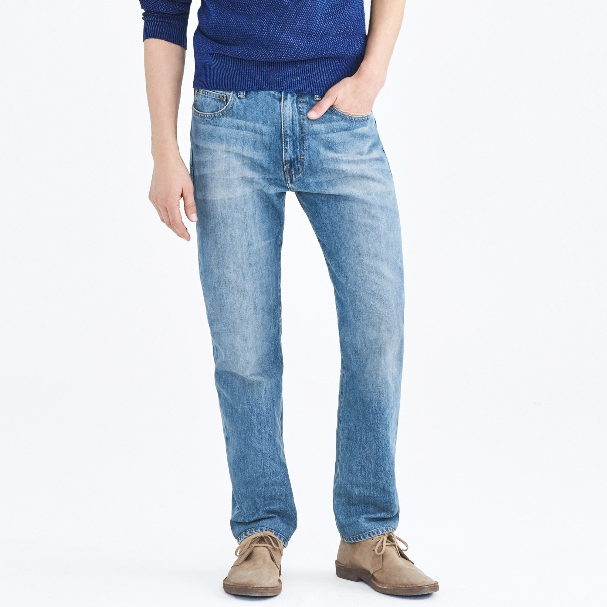 sullivan jean in light wash : factorymen bootcut