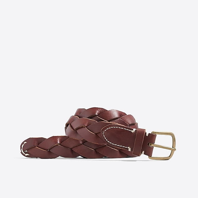 j.crew factory: braided leather belt