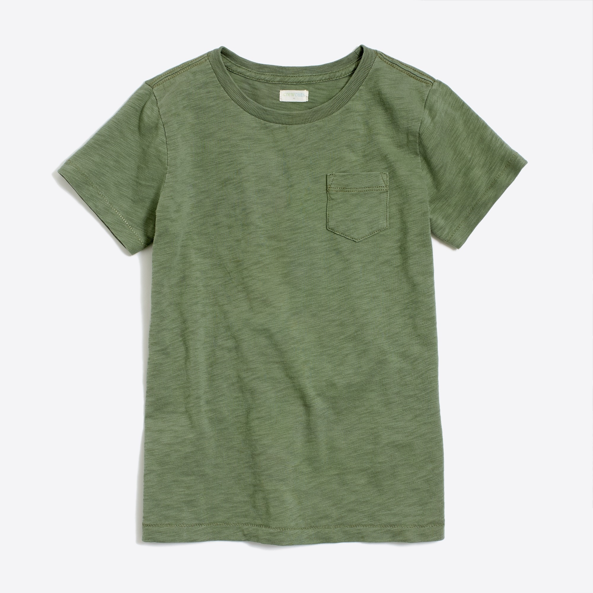 Kids' sunwashed garment-dyed pocket T-shirt factoryboys the camp shop c