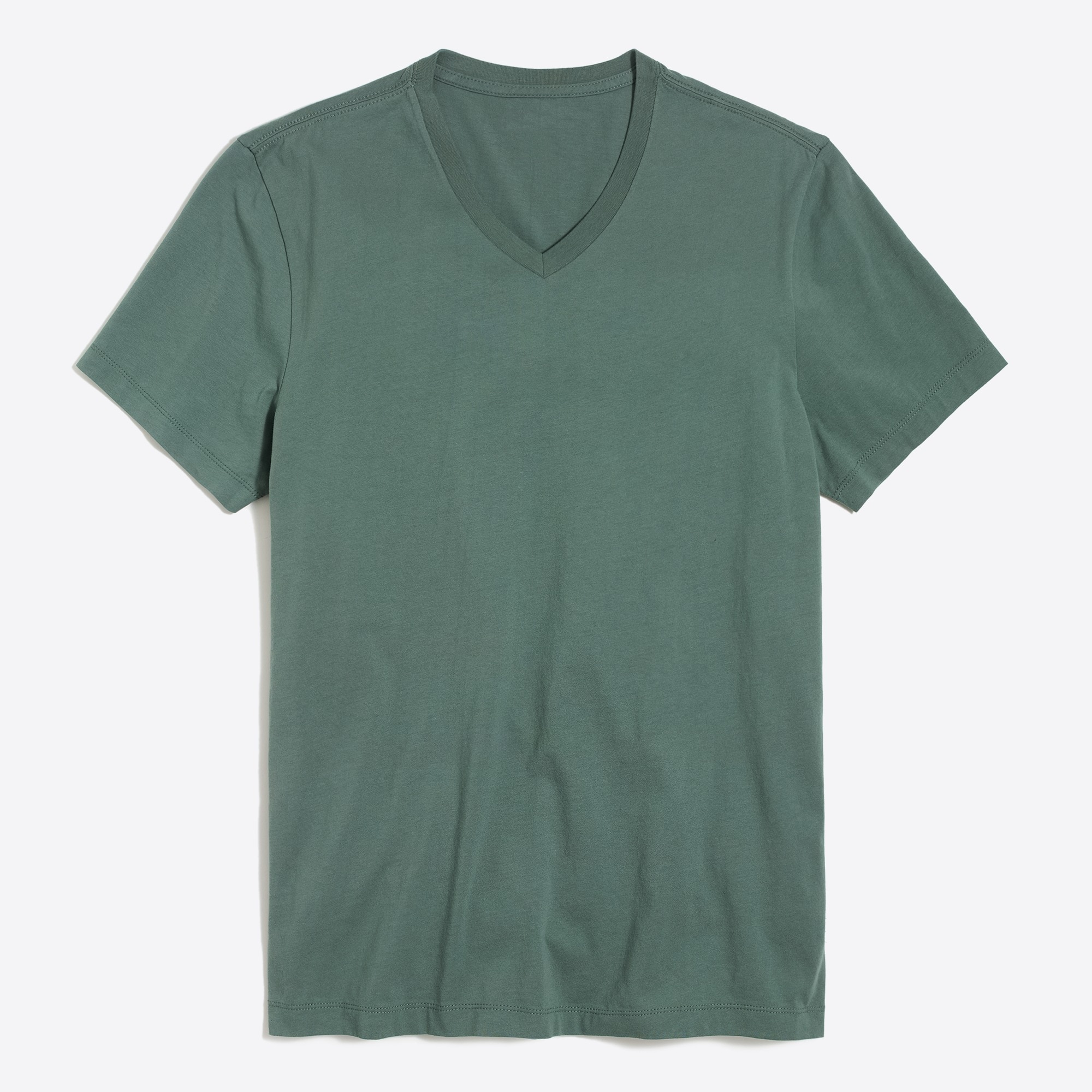 factory mens J.Crew Mercantile slim Broken-in V-neck T-shirt