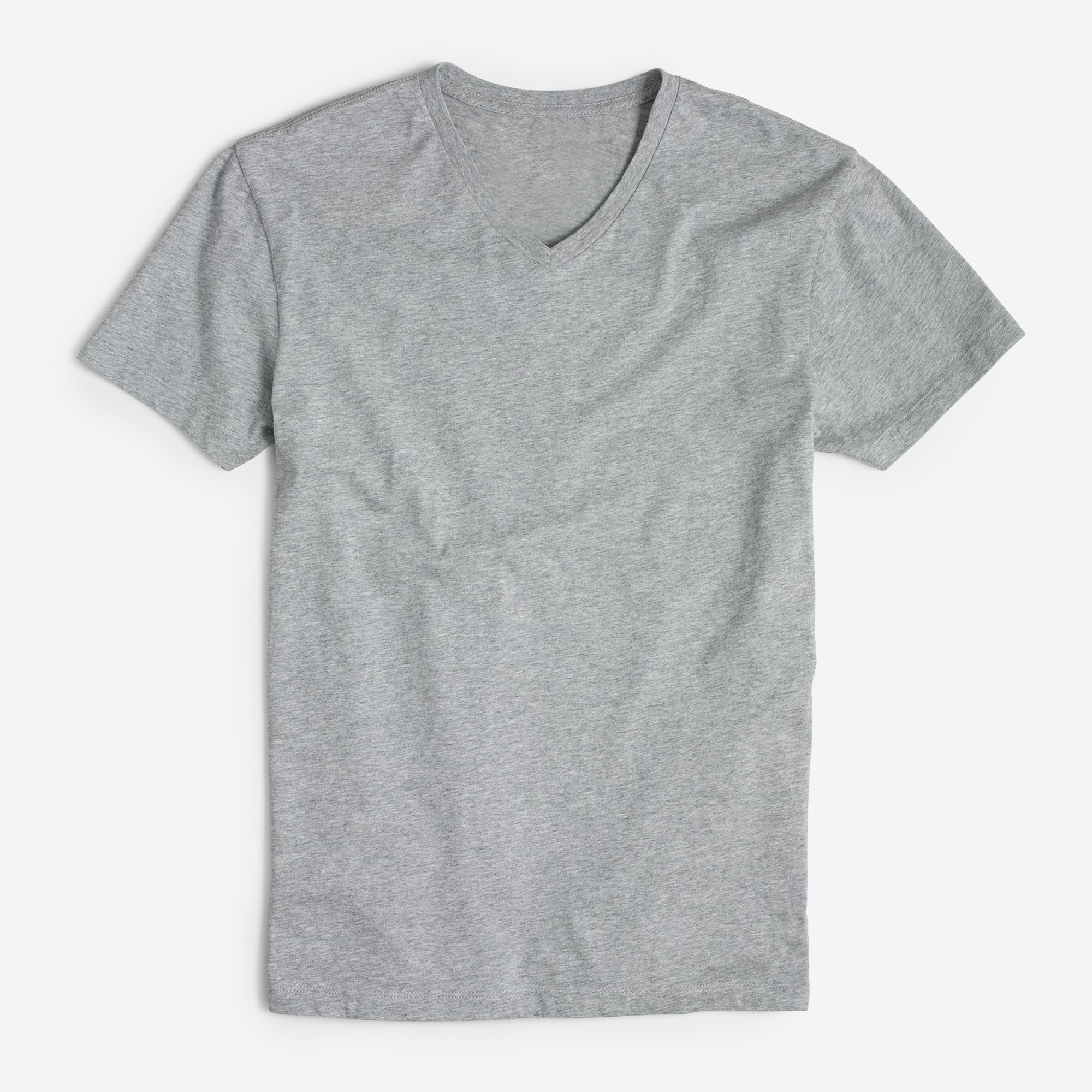 factory mens J.Crew Mercantile tall slim Broken-in V-neck T-shirt