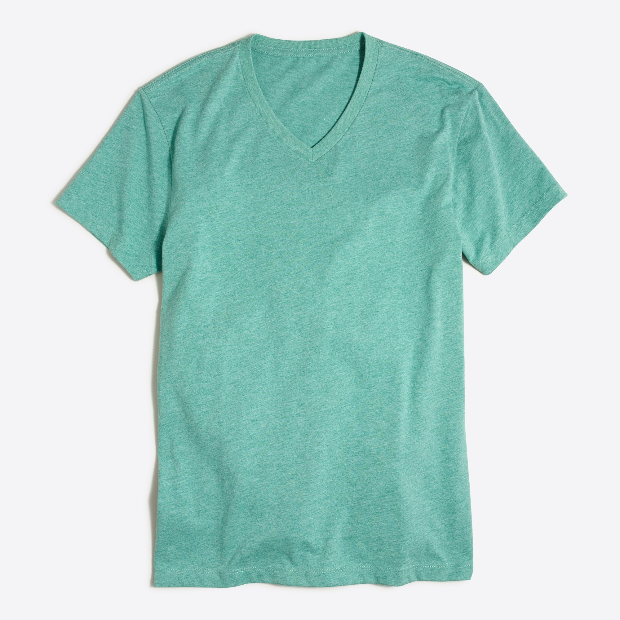 J.Crew Mercantile slim heathered Broken-in V-neck T-shirt factorymen t-shirts & henleys c