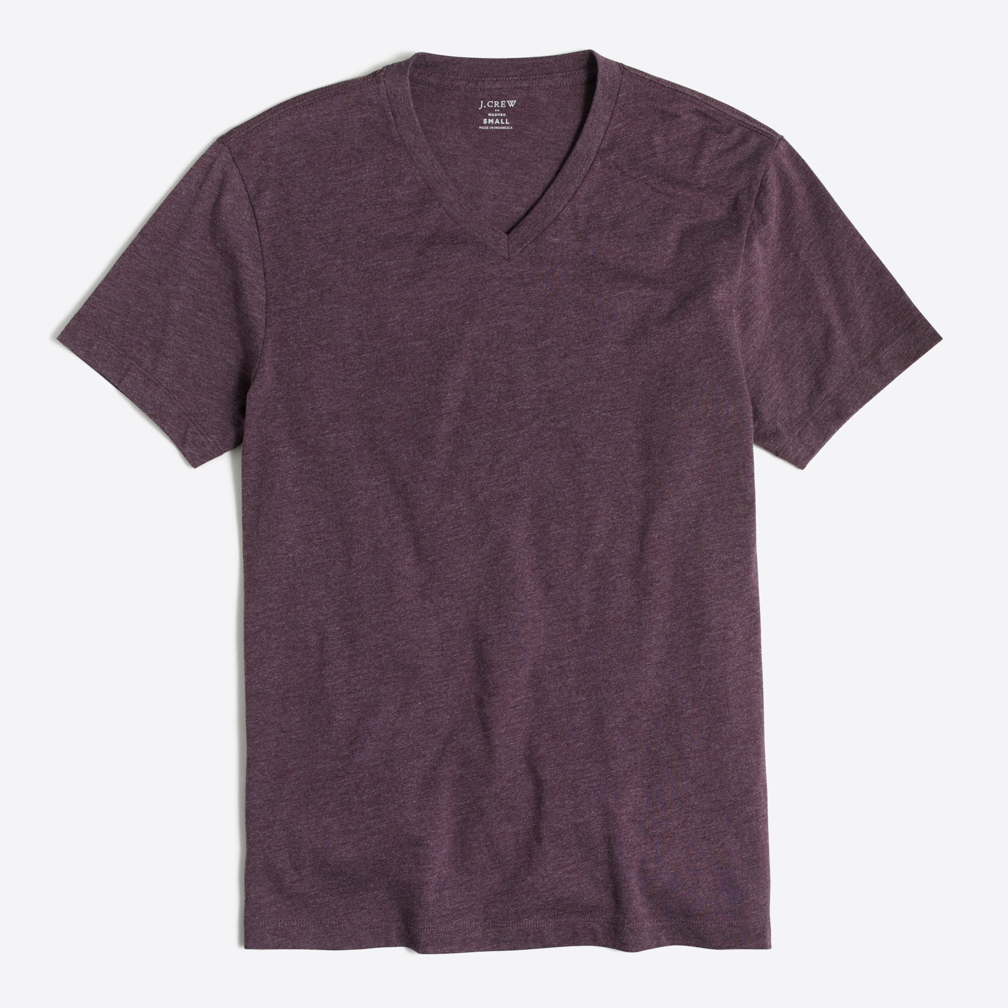 J.Crew Mercantile Heathered Broken-in V-neck T-shirt factorymen online exclusives c