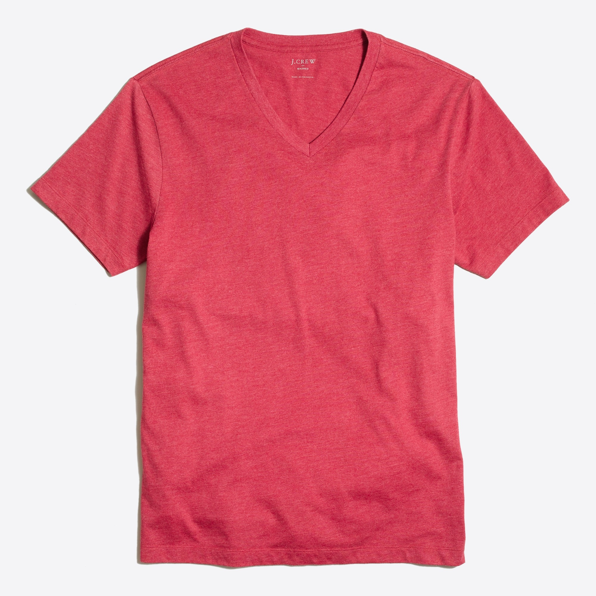 J.Crew Mercantile heathered Broken-in V-neck T-shirt