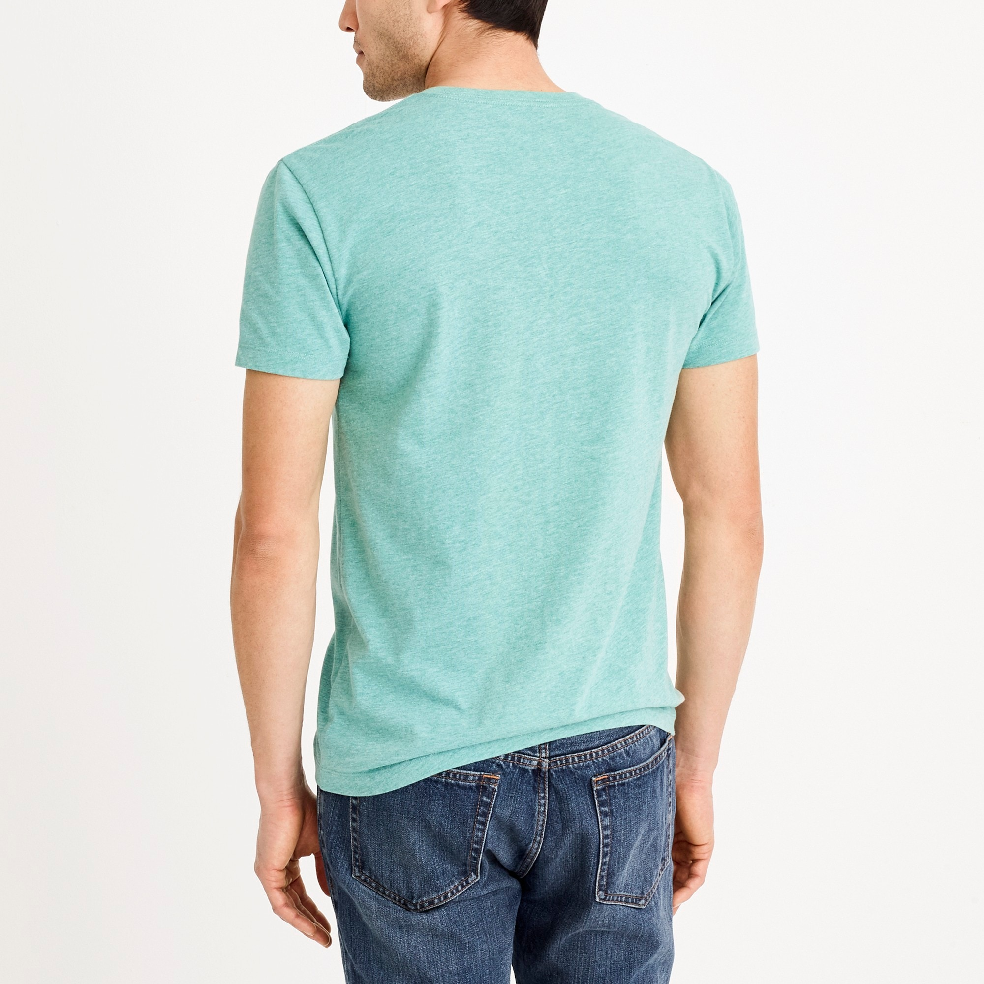 Image 2 for J.Crew Mercantile slim heathered Broken-in V-neck T-shirt