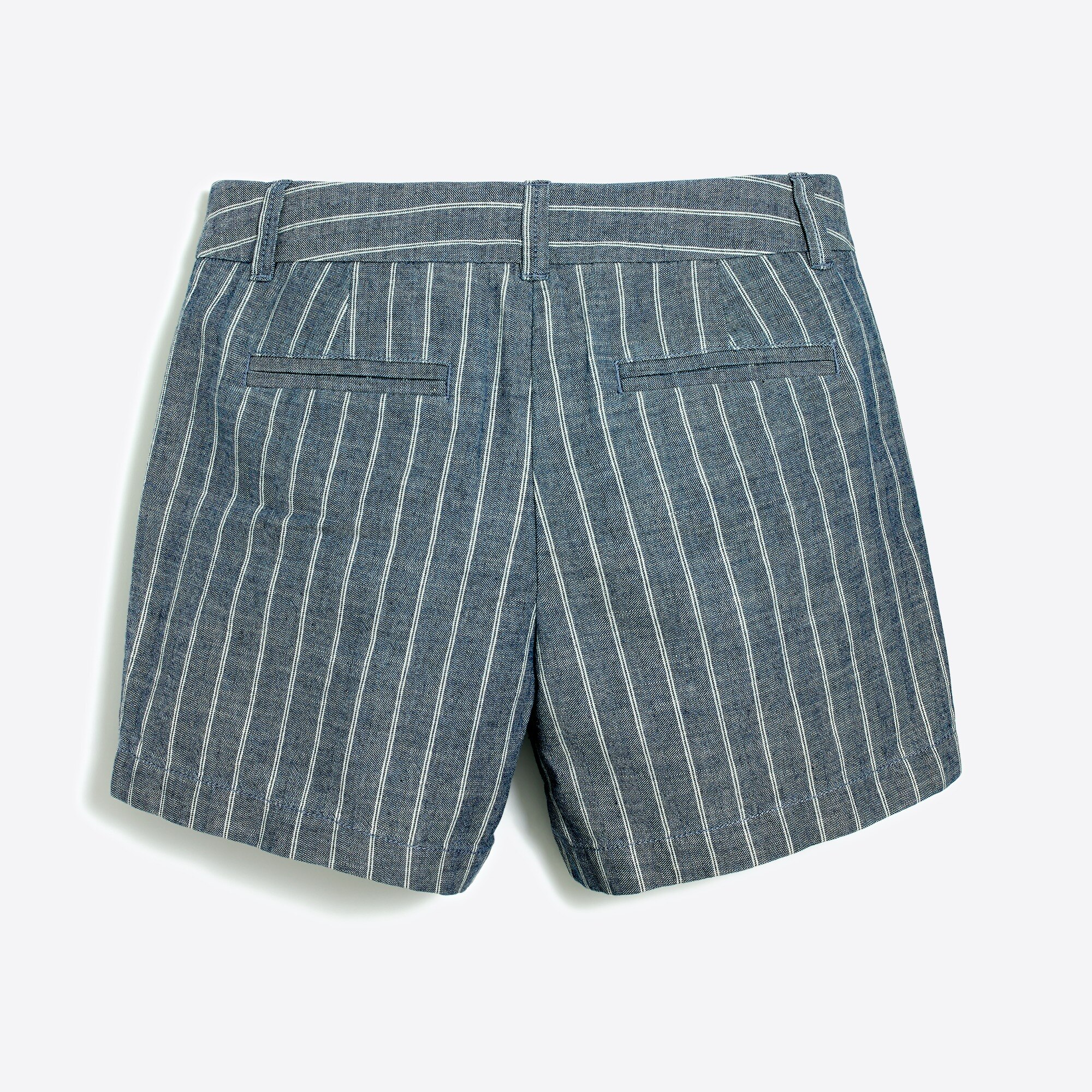 "Image 2 for 5"" cotton striped short"