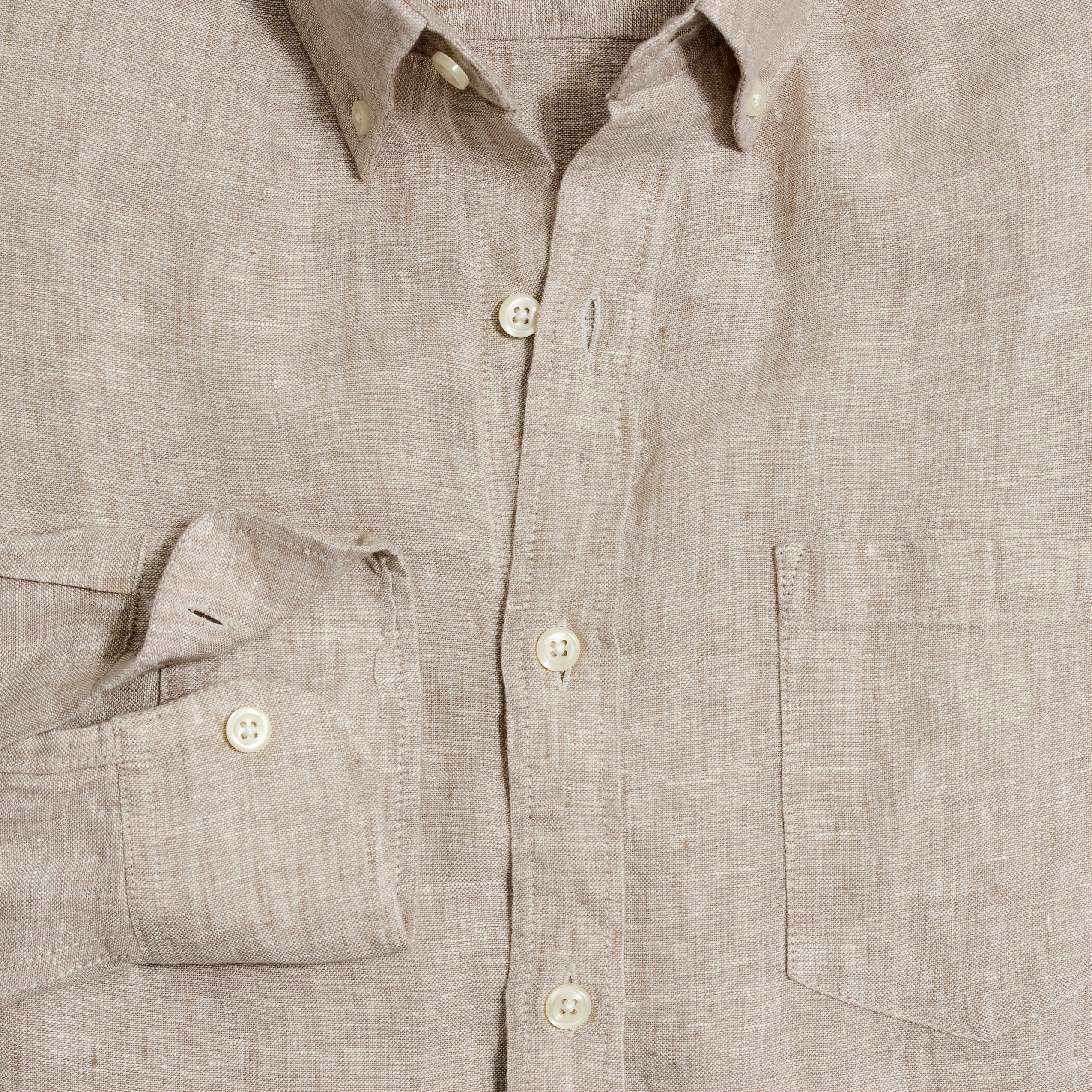 Image 2 for Slim linen shirt