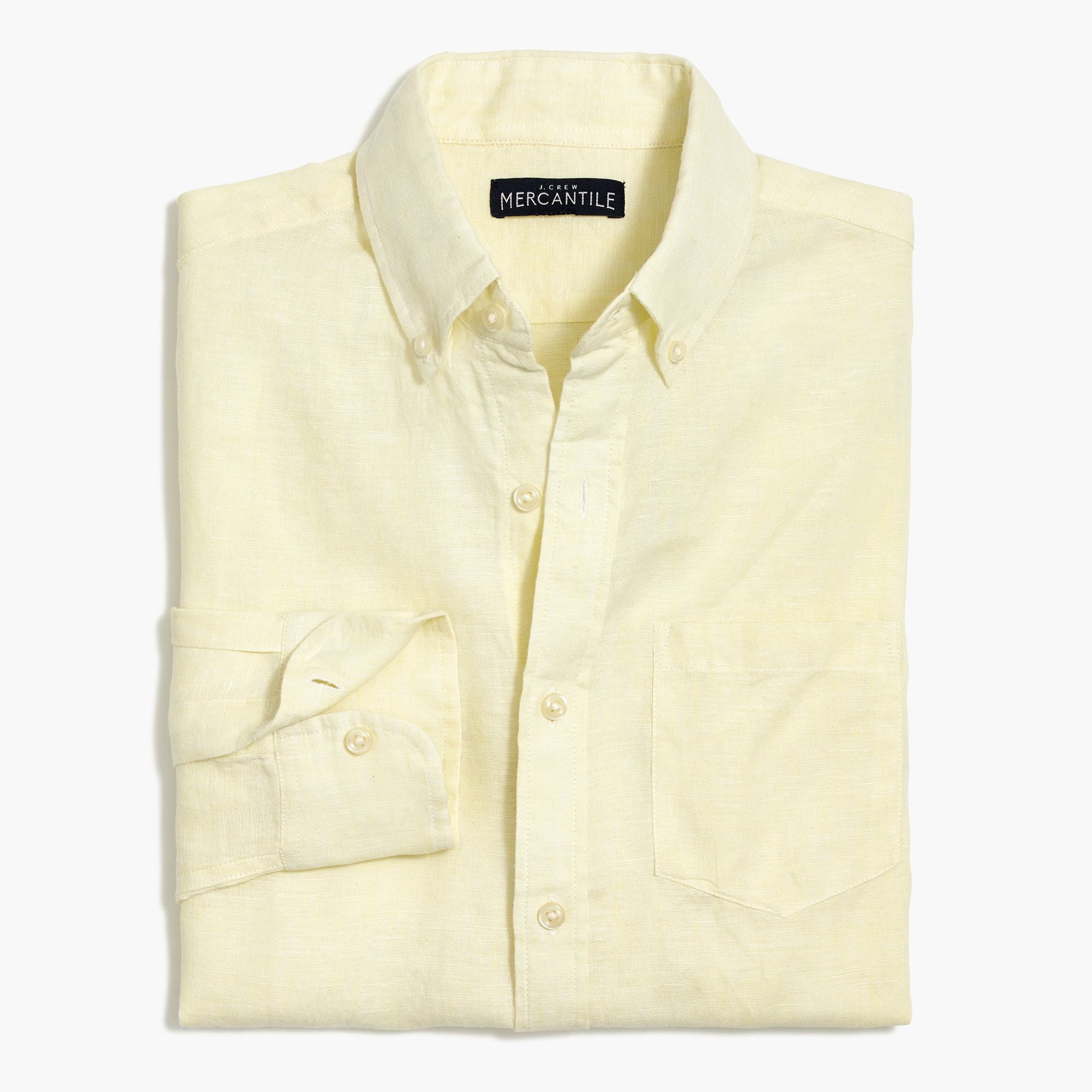 factory mens Slim linen shirt