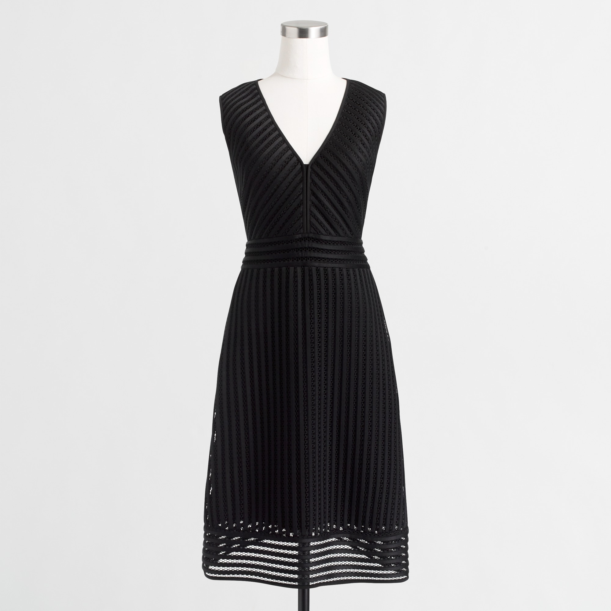 Image 1 for Striped eyelet dress